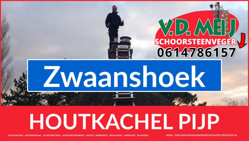 enkelwandig rook-kanaal aanleggen in Zwaanshoek