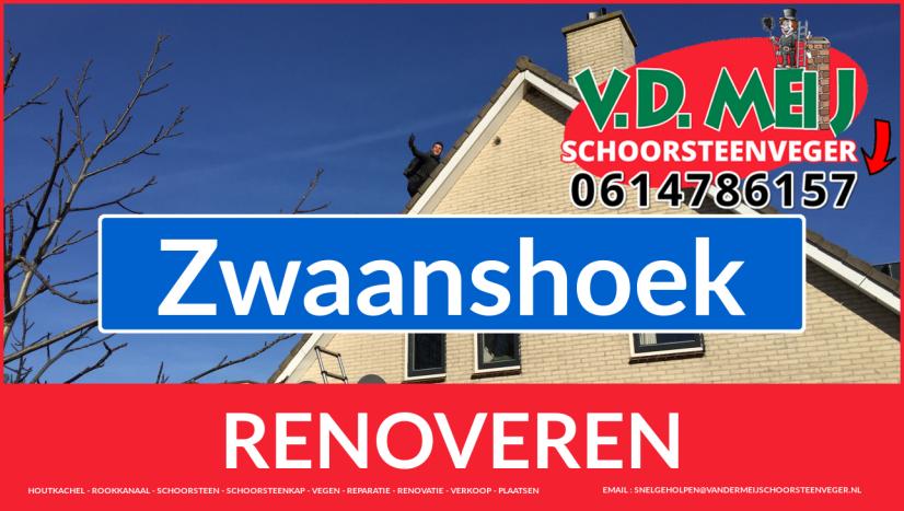 Tot ziens bij Van der Meij schoorsteenrenovatie Zwaanshoek