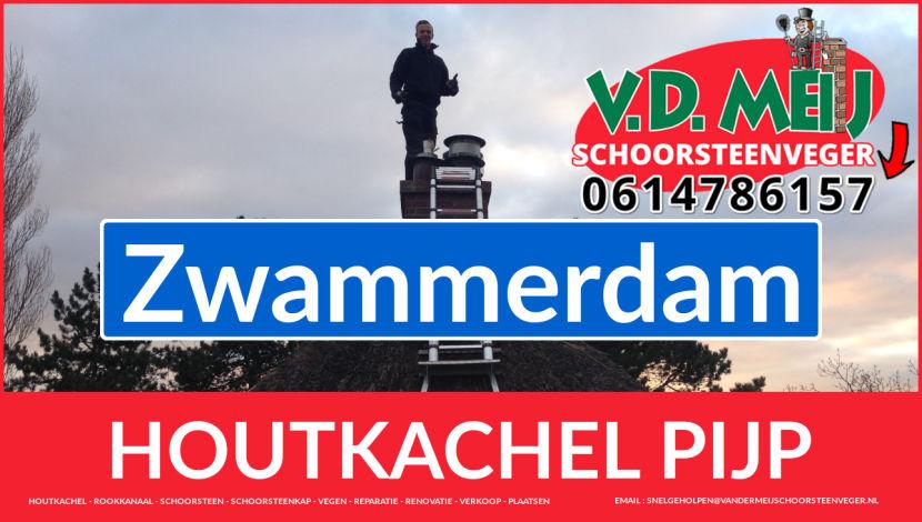 enkelwandig rookkanaal plaatsen in Zwammerdam