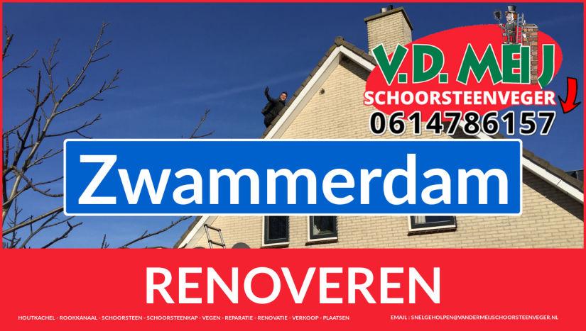 Tot ziens bij Van der Meij schoorsteen renovatie Zwammerdam