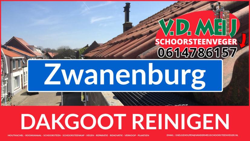 dakgoot schoonmaken Zwanenburg