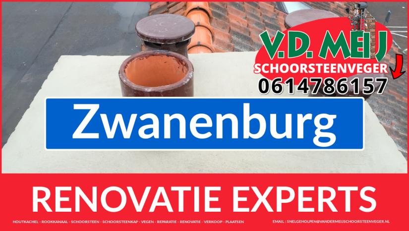 complete schoorsteen restauratie in Zwanenburg