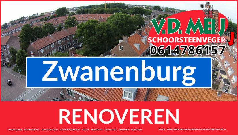 bedankt voor uw bezoek aan Van der Meij schoorsteen restauratie Zwanenburg