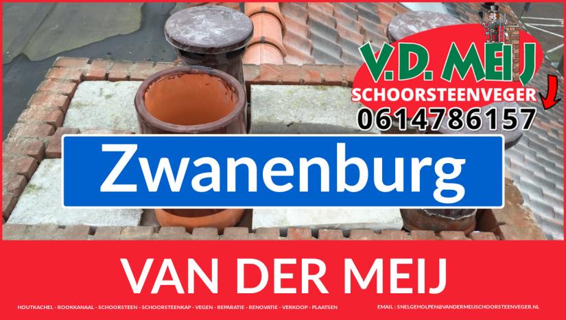 Van der Meij schoorsteen renovatie in Zwanenburg