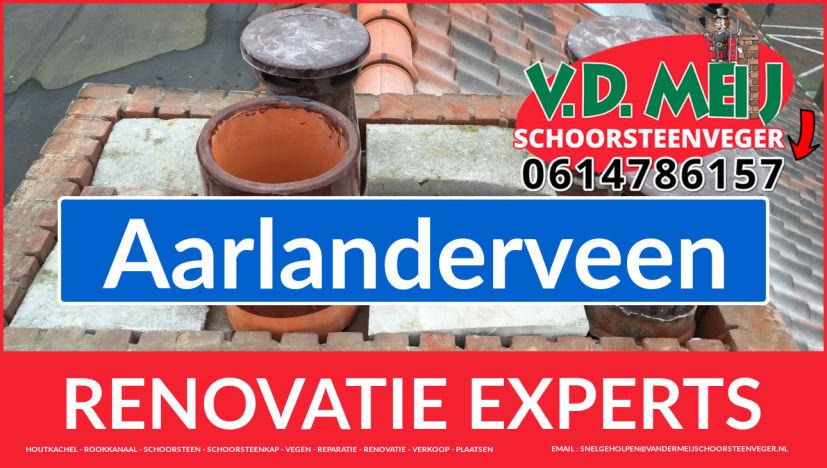 gehele schoorsteen renovatie in Aarlanderveen
