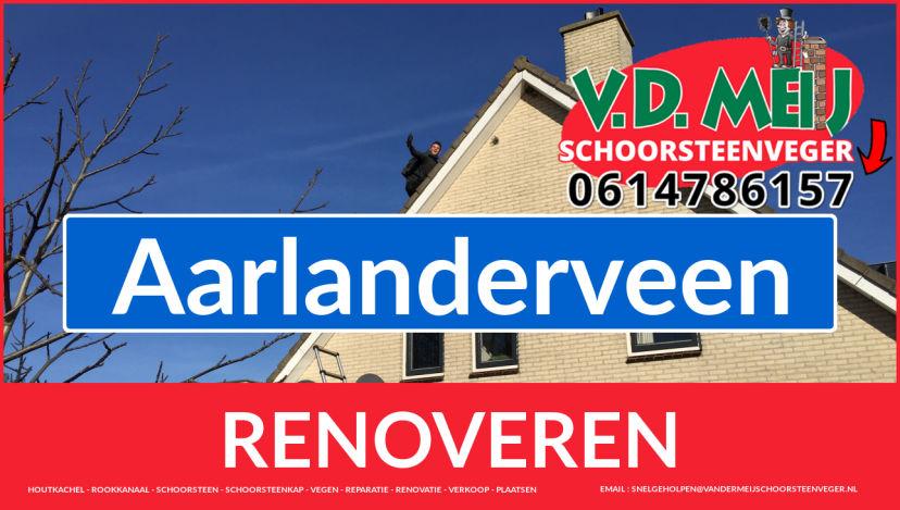 Tot ziens bij Van der Meij schoorsteen restauratie Aarlanderveen