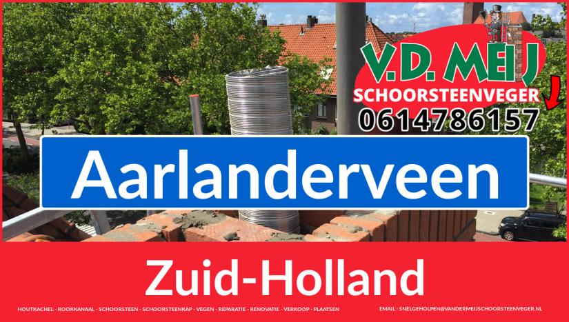 Tot ziens bij Van der Meij schoorsteenrenovatie Aarlanderveen