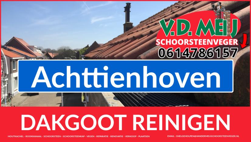 dakgoot reinigen Achttienhoven