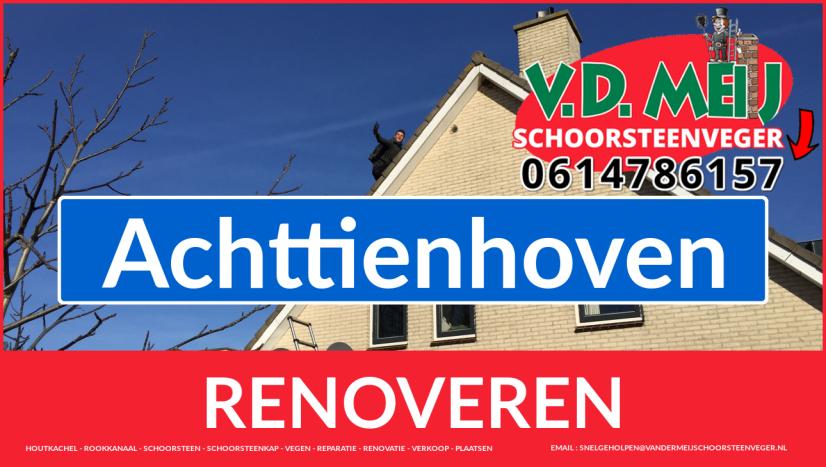 Tot ziens bij Van der Meij schoorsteen restauratie Achttienhoven