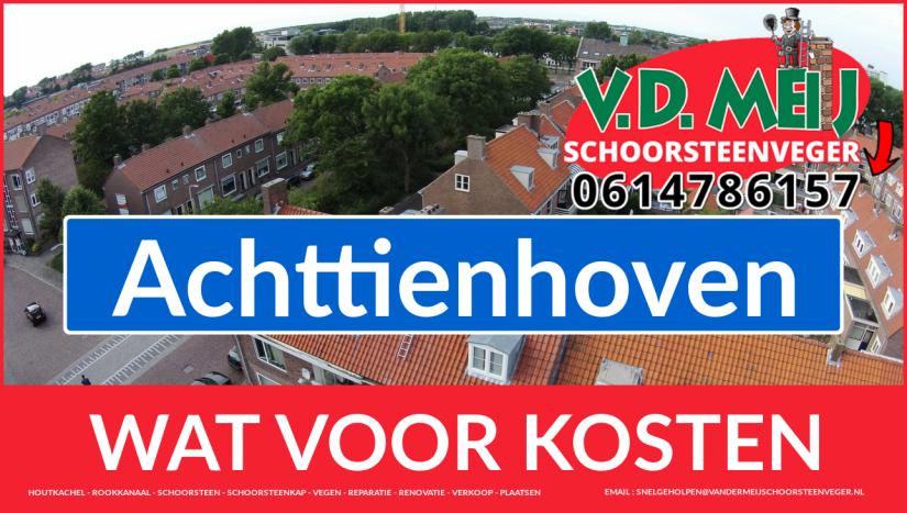 Schoorsteenrenovatie Schoorsteen Achttienhoven