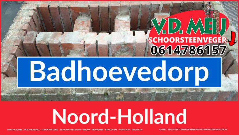 Tot ziens bij Van der Meij schoorsteen renoveren Badhoevedorp