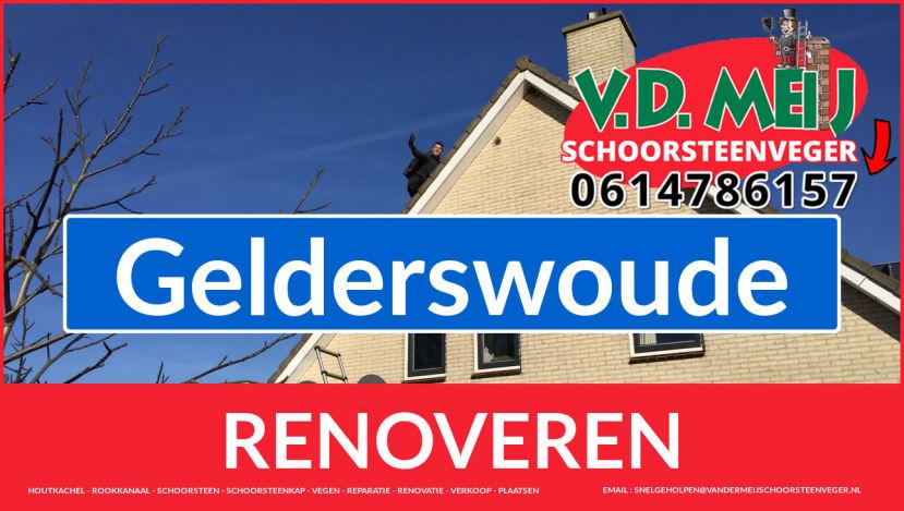 Tot ziens bij Van der Meij schoorsteenrenovatie Gelderswoude