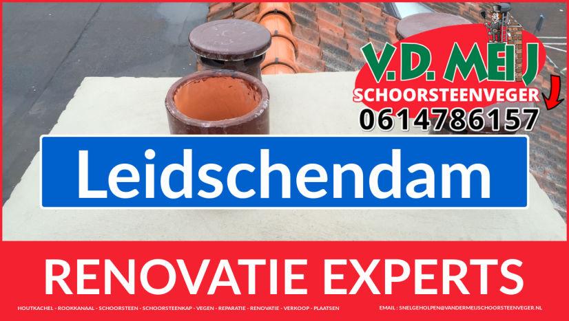volledige schoorsteen renovatie in Leidschendam