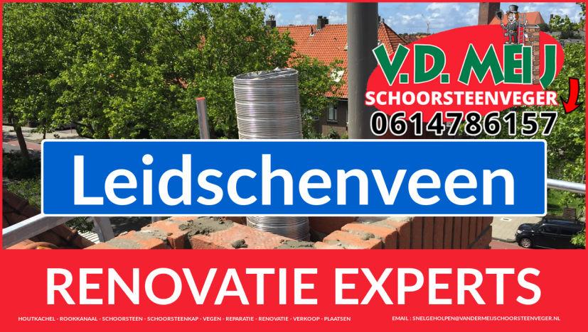 algehele schoorsteenrenovatie in Leidschenveen