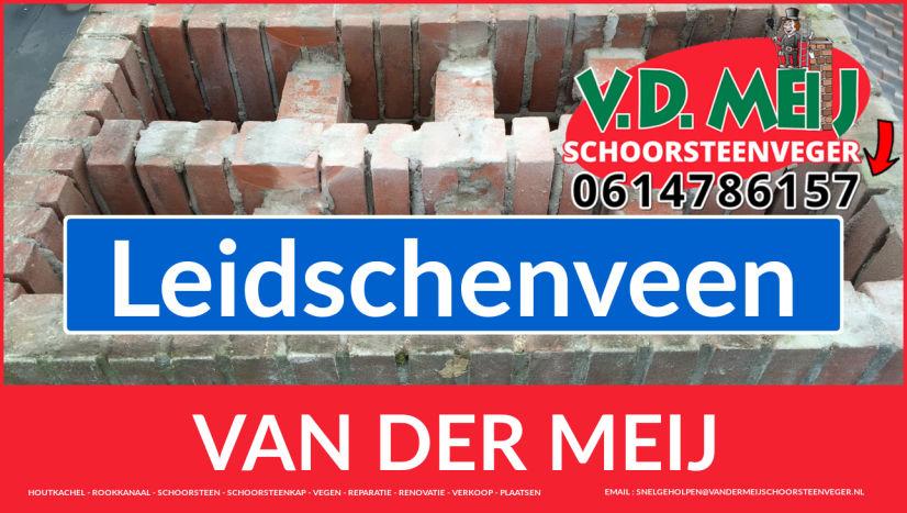 Van der Meij schoorsteenrenovatie in Leidschenveen