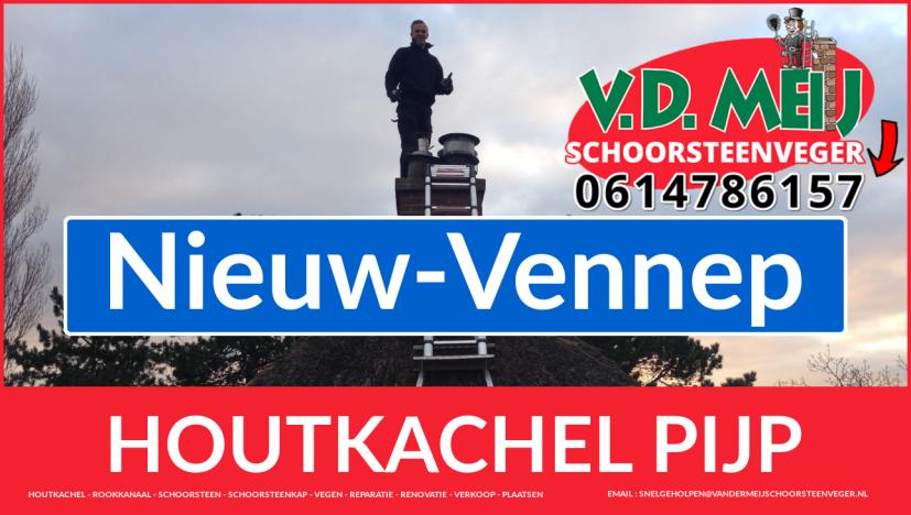 enkel-wandig rookkanaal vervangen in Nieuw-Vennep