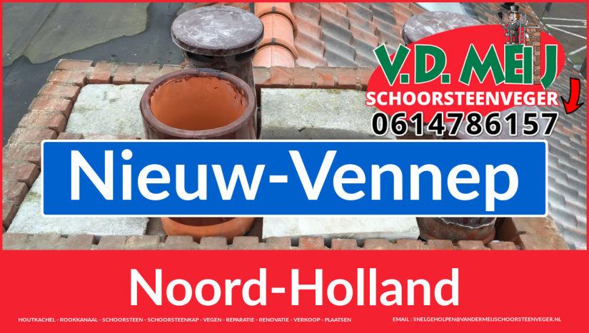 bedankt voor uw bezoek aan Van der Meij schoorsteen renoveren Nieuw-Vennep