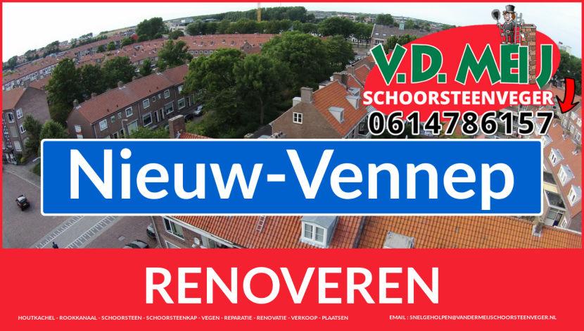 bedankt voor uw bezoek aan Van der Meij schoorsteen renovatie Nieuw-Vennep