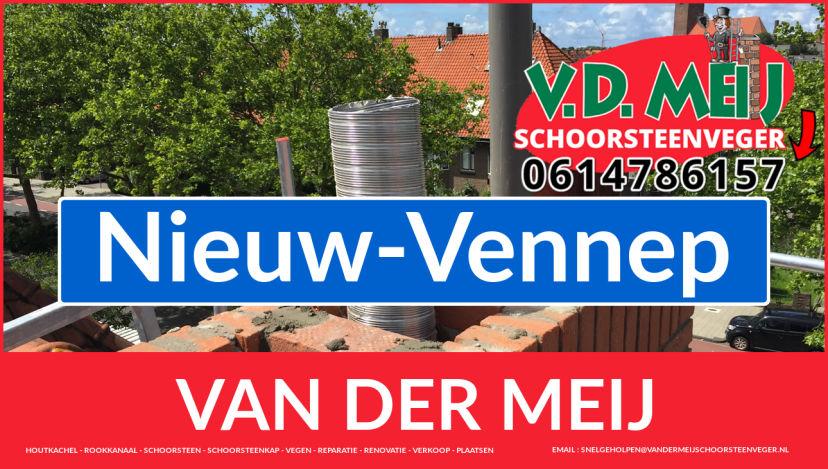 Van der Meij schoorsteen renovatie in Nieuw-Vennep