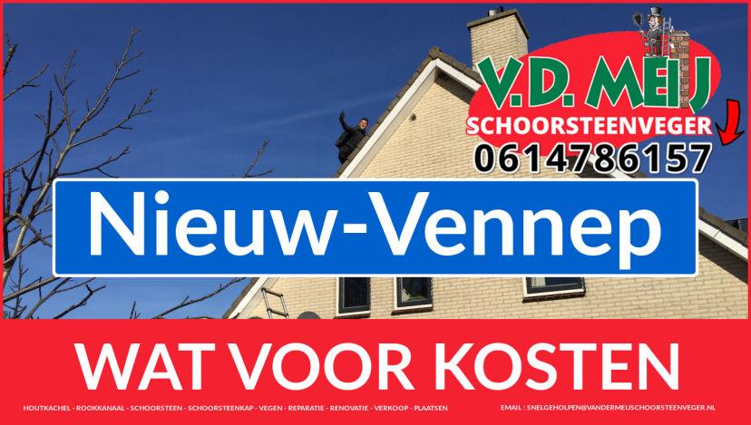 Schoorsteenrenovatie Schoorsteen Nieuw-Vennep