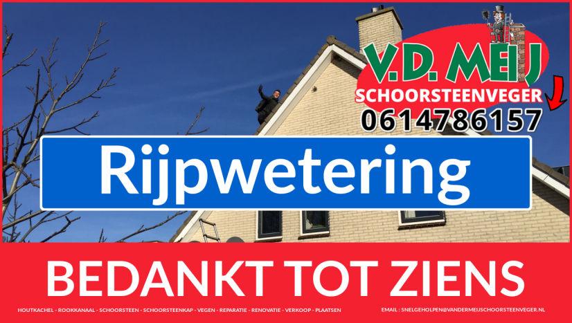 Tot ziens bij Van der Meij {schoorsteenschoorsteenservice uit Noordwijk-Binnen