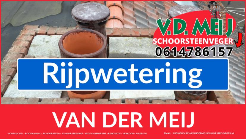 Van der Meij schoorsteen renovatie in Rijpwetering