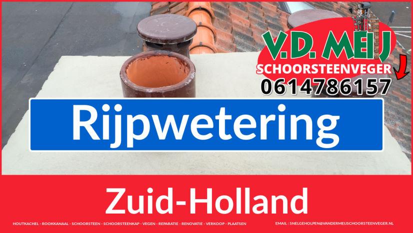 Tot ziens bij Van der Meij schoorsteen restauratie Rijpwetering