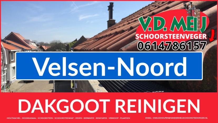 dakgoot vegen Velsen-Noord