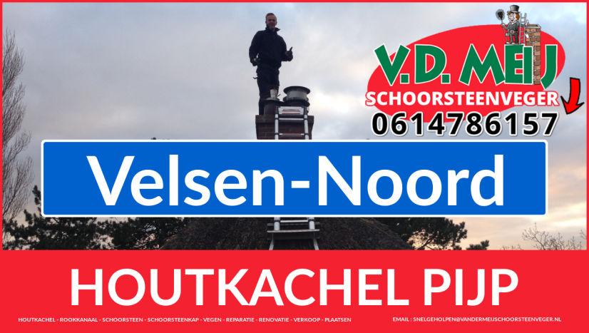 enkel-wandig rook-kanaal plaatsen in Velsen-Noord