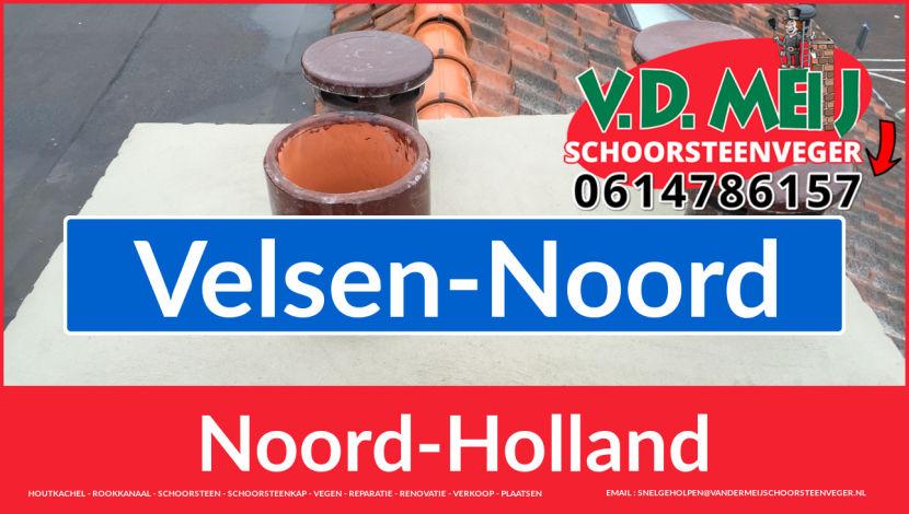 Tot ziens bij Van der Meij schoorsteen renovatie Velsen-Noord