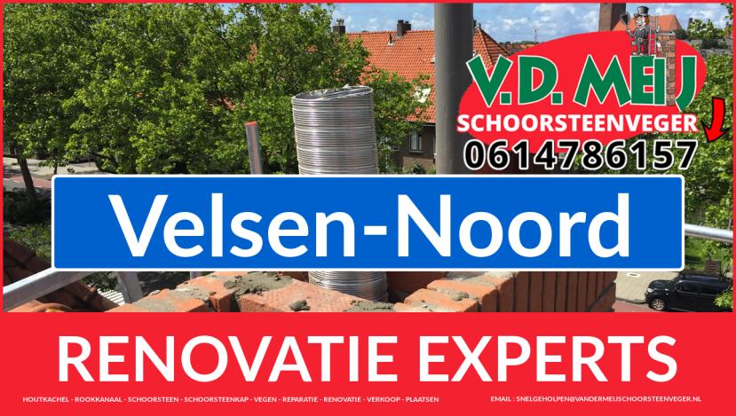 totale schoorsteen renovatie in Velsen-Noord