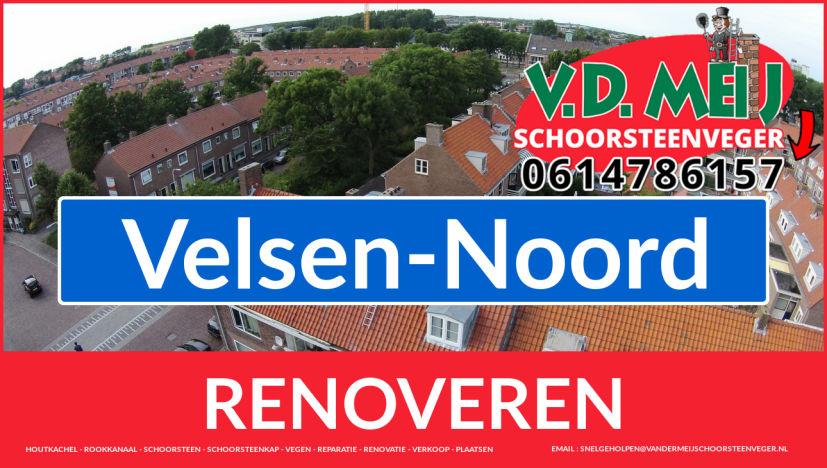 bedankt voor uw bezoek aan Van der Meij schoorsteen restauratie Velsen-Noord