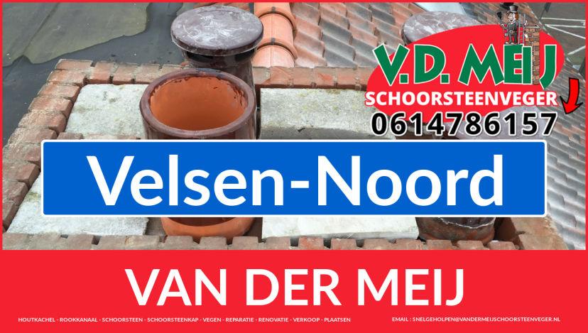 Van der Meij schoorsteen renovatie in Velsen-Noord