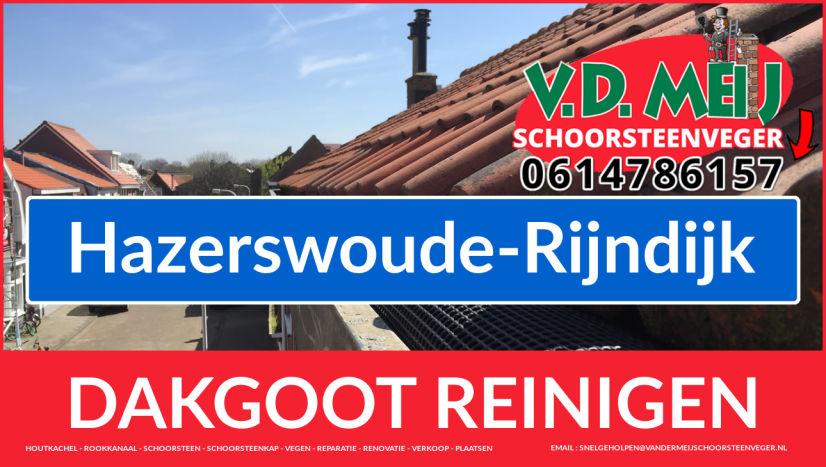 dakgoot schoonmaken Hazerswoude-Rijndijk