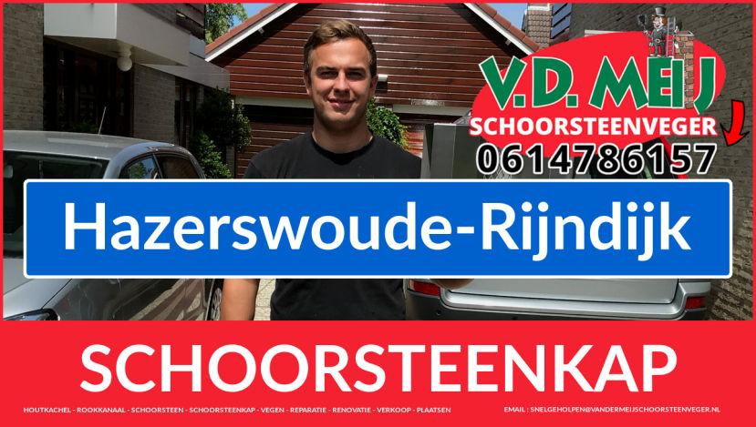 schoorsteen kap plaatsen in Hazerswoude-Rijndijk