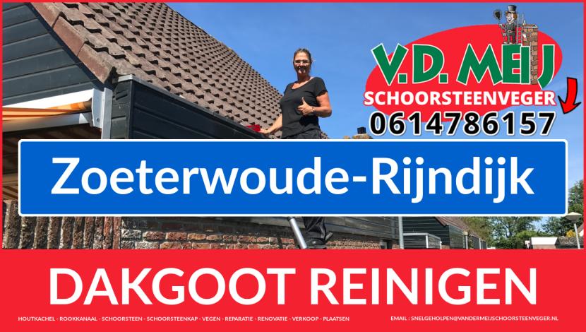 dakgoot reinigen Zoeterwoude-Rijndijk