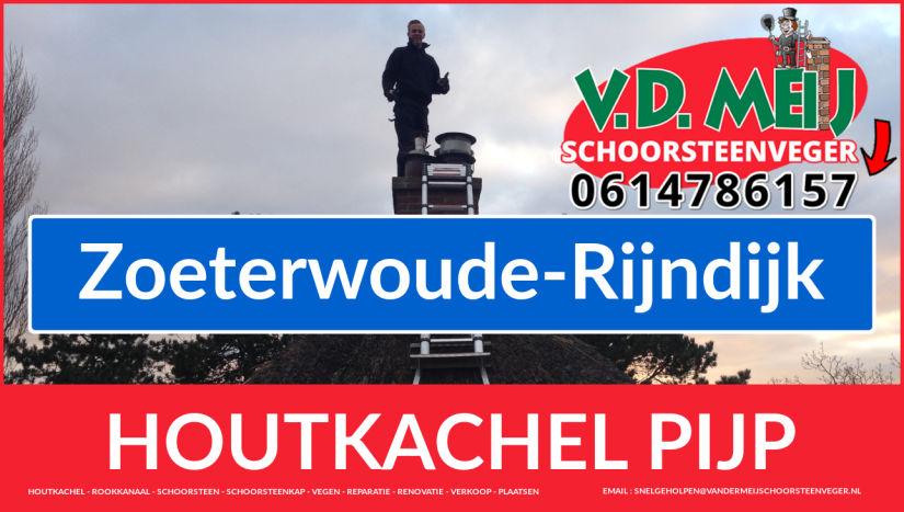 enkel-wandig rook-kanaal vervangen in Zoeterwoude-Rijndijk