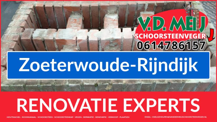 algehele schoorsteen restauratie in Zoeterwoude-Rijndijk