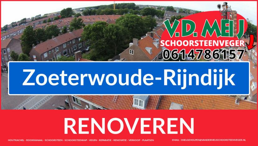 Tot ziens bij Van der Meij schoorsteenrenovatie Zoeterwoude-Rijndijk
