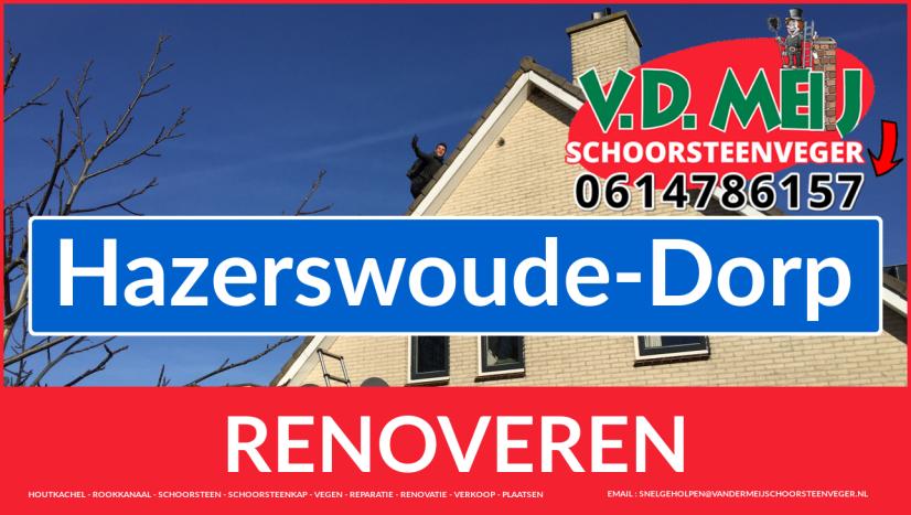 bedankt voor uw bezoek aan Van der Meij schoorsteen renovatie Hazerswoude-Dorp