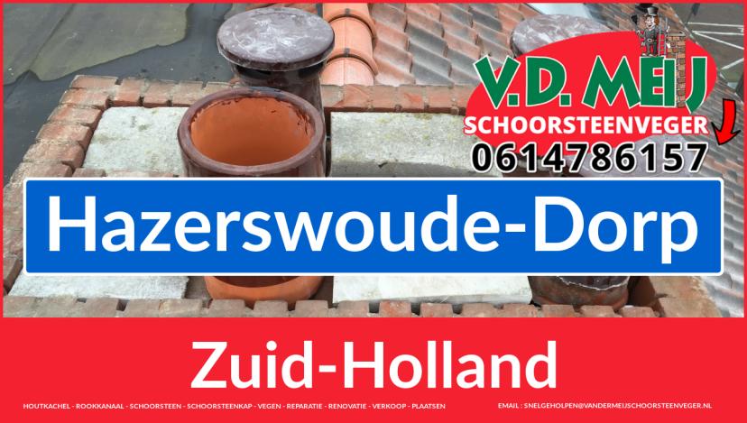 Tot ziens bij Van der Meij schoorsteen renoveren Hazerswoude-Dorp