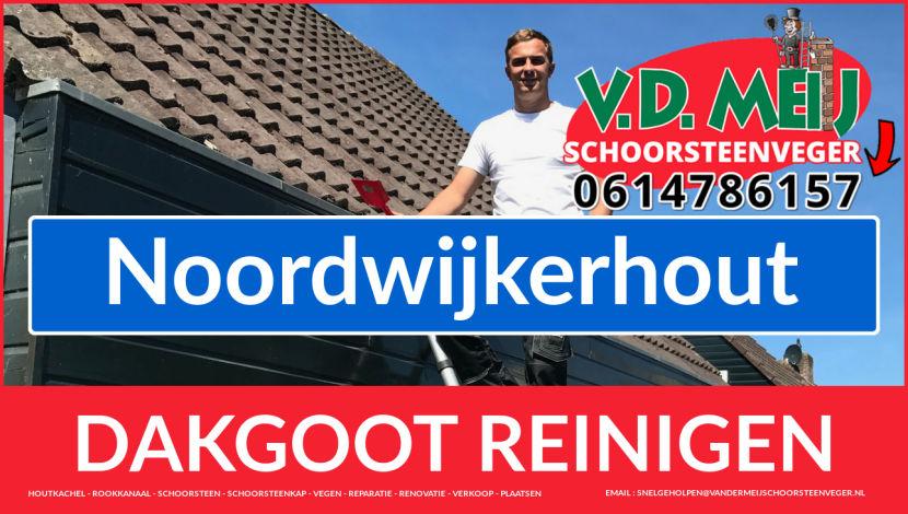 dakgoot schoonmaken Noordwijkerhout