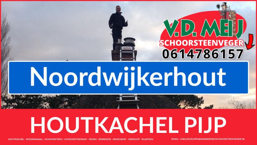 enkel-wandig rookkanaal aanleggen in Noordwijkerhout