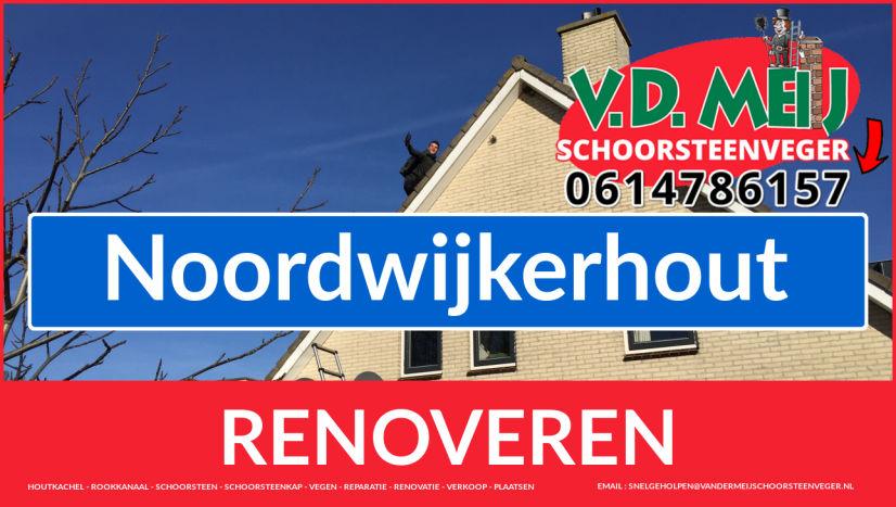 bedankt voor uw bezoek aan Van der Meij schoorsteenrenovatie Noordwijkerhout