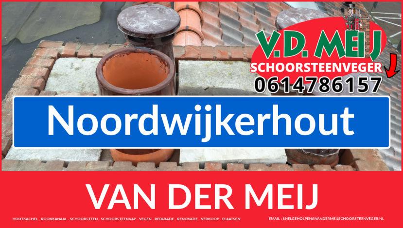 Van der Meij schoorsteenrenovatie in Noordwijkerhout