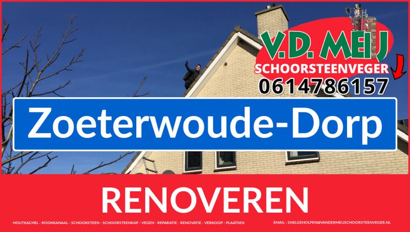 Tot ziens bij Van der Meij schoorsteenrenovatie Zoeterwoude-Dorp