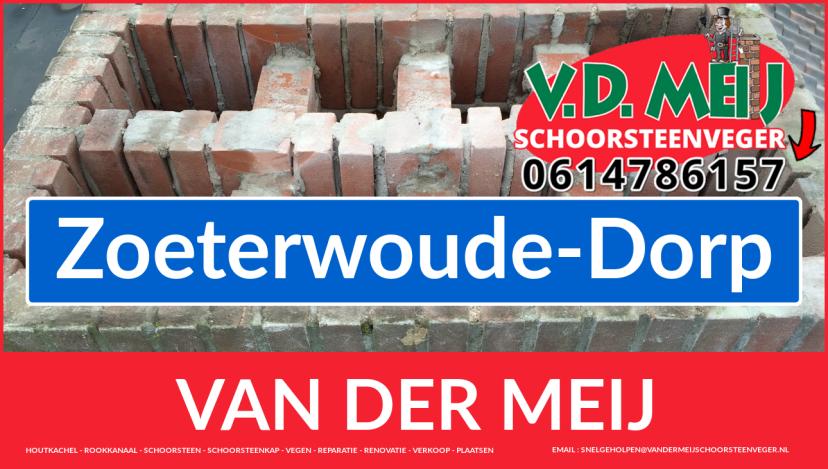 Van der Meij schoorsteenrenovatie in Zoeterwoude-Dorp