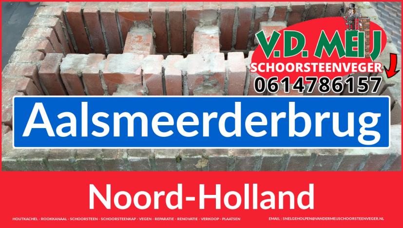 Tot ziens bij Van der Meij schoorsteen renovatie Aalsmeerderbrug