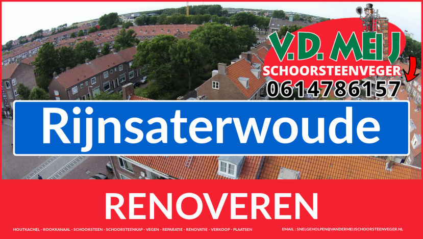 Tot ziens bij Van der Meij schoorsteenrenovatie Rijnsaterwoude
