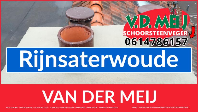 Van der Meij schoorsteenrenovatie in Rijnsaterwoude